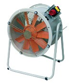 HTM Long Cased Portable Axial Fans
